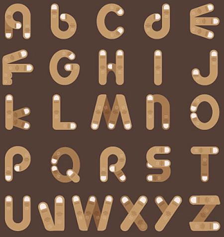 Fingers alphabet.