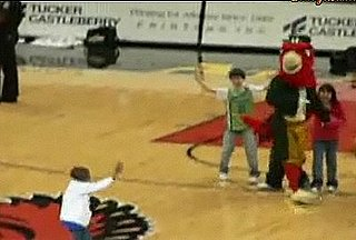 Dance-Off: Mascot vs. Child