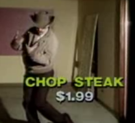 Low-Budget '80s Commercial For Prime-Cut Restaurant
