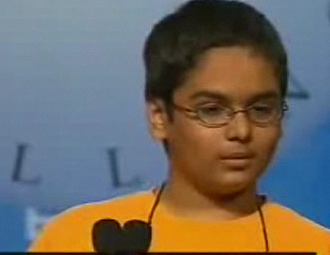 Spelling Bee Word Makes Everyone Uncomfortable