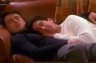 Flashback: Joey and Ross Are Nap Buddies on Friends