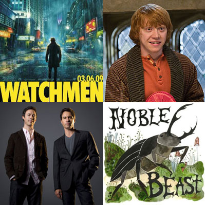 10 Entertainment Moments I'm Looking Forward to For '09