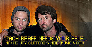 Zach Braff Music Video Contest