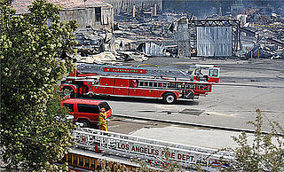 Fire at Universal Studios: Like Backdraft, But Real