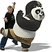Jack Black as Po (Kung Fu Panda)