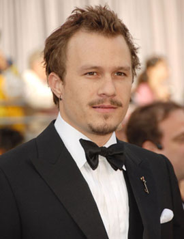 January: Heath Ledger Dies