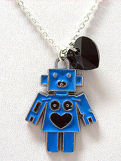 Enameled Robot Charm Necklace: Love It or Leave It?
