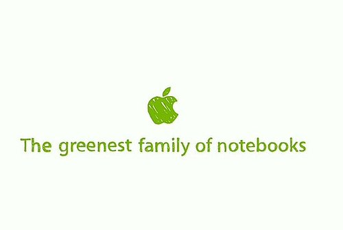 Apple's New Green Ad for the New 17-Inch MacBook Pro