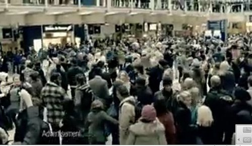 T-Mobile Commercial Set in London Train Station Full of Dancing Commuters