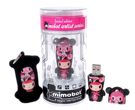 Tokidoki for MIMOBOT USB Flash Drives