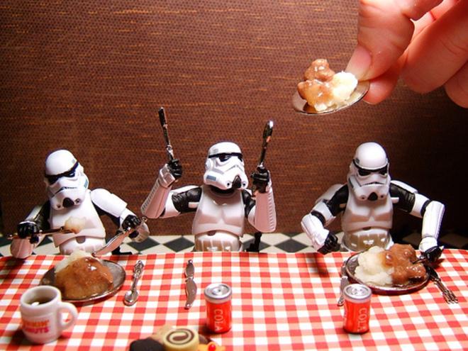 Death Star Buffet