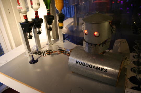 Robotic Bartenders: How Could This Not Be Great?