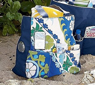 Pottery Barn's Media Friendly Beach Bag