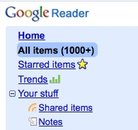 Geek Tip: Drag and Drop in Google Reader
