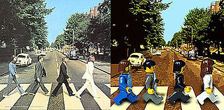 The Toy Zone Re-creates Famous Album Covers With Legos