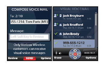 Verizon Gets a Visual Voice Mail Application