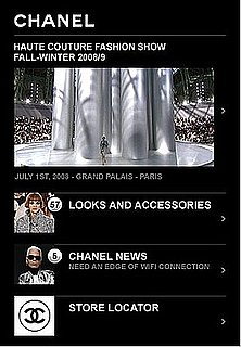 Tres Geek Chic: Chanel Joins the App Store