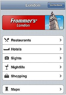Frommer's Travel Guides Come To the iTunes App Store
