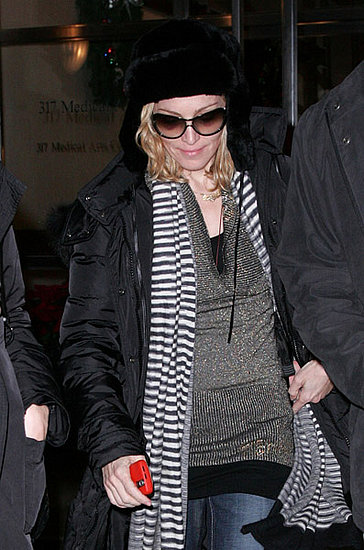 Madonna and Her BlackBerry