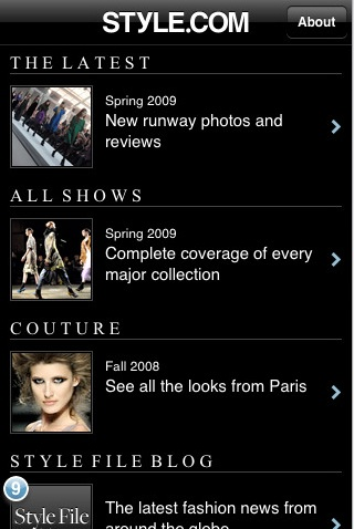 Style.com App Gives You Access to Fashion Week Runway Shows From Your iPhone
