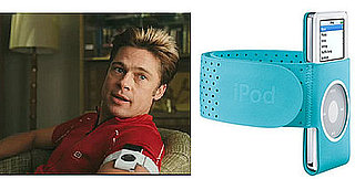 Found! Brad Pitt's iPod Armband in Burn After Reading