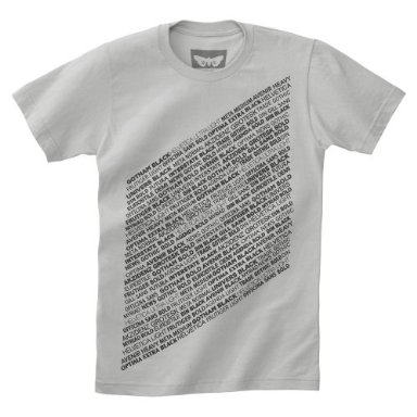 Sans-Serif Font Tee: Love It or Leave It?