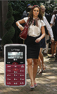 Blair Waldorf's New Cell Phone on CW's Gossip Girl is Maroon LG eNV2