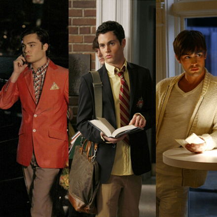 The Cell Phones Carried by Dan, Chuck, and Nate on Gossip Girl