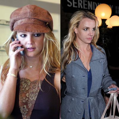 Britney Spears's Cell Phone Evolution