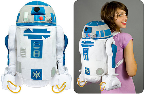 R2-D2 Backpack: Totally Geeky or Geek Chic?