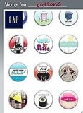 "Gap Debuts ""Vote For"" Buttons For Facebook Profiles"