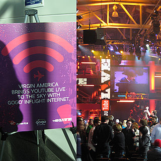 Virgin America's New Inflight WiFi and YouTube Live Event
