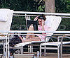 Sarah Palin Poolside In Miami With her Dell Laptop