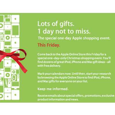 Apple's Big Shopping Event
