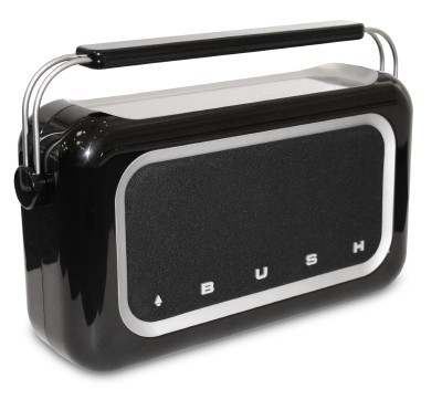Retro Radio With Touchscreen Controls