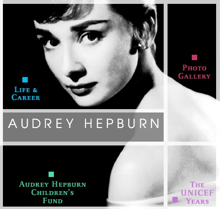 Blair: Donation to Audrey Hepburn's Website