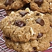 Stray from the usual cookie with these Oatmeal Chocolate Chip Cookies. The secret's in the tahini sauce!
