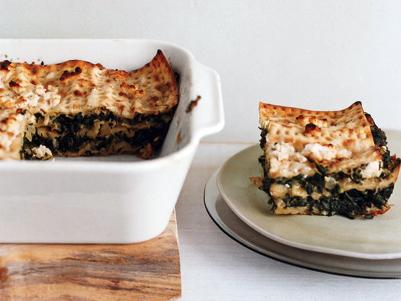 Spinach Matzoh Pie