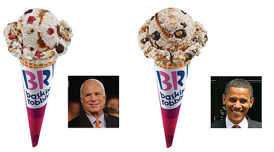 Baskin-Robbins Flavor Debate '08