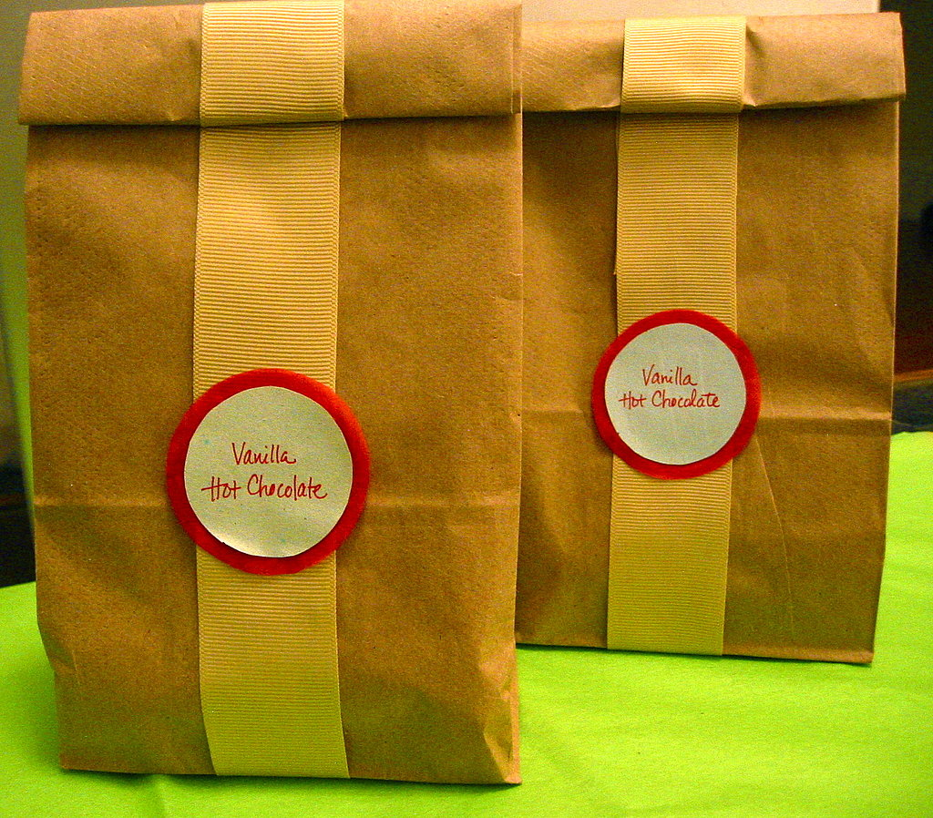 Alternately, package mix in decorative paper bags with serving instructions.