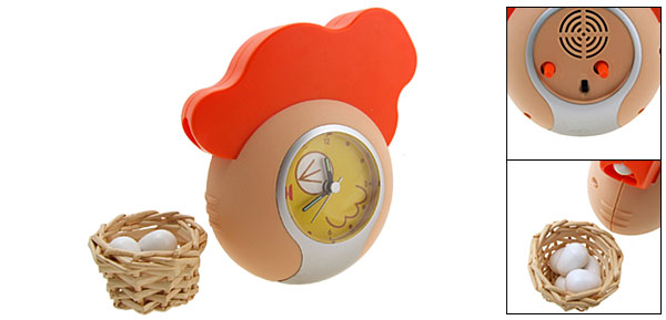 The Chicken and the Egg Alarm Clock