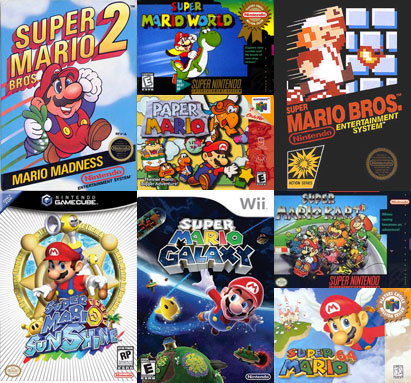 Which is Your Favorite Mario Game?