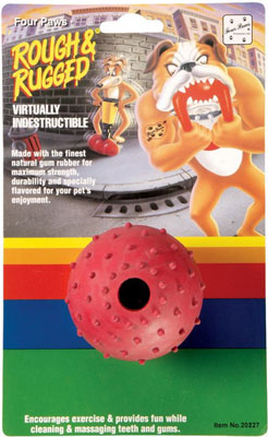Four Paws Pimple Ball Dog Toy Recall