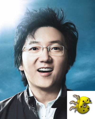 Masi Oka and Pacasaur