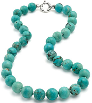 Turquoise Necklace, Jewelry for Dogs