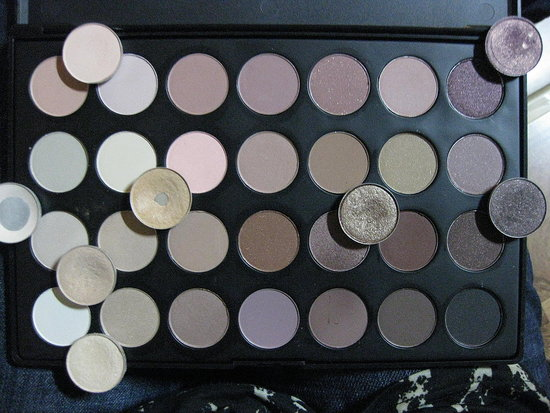 CS 28 Neutral Palette and MAC dupes