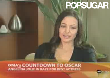 Angelina Jolie Talks Oscars on Good Morning America