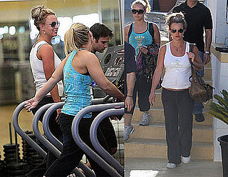 Britney Works It Out, Sam Still Stays Away