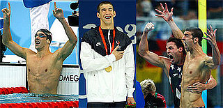 Photos of Michael Phelps At the 2008 Summer Olympics in Beijing