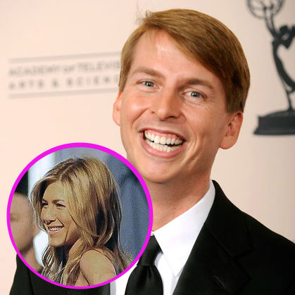 No. 2: Jack McBrayer Disses Aniston!